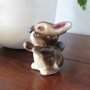 Hugging Bunny Rabbit Pepper Shaker, Replacement Shaker, 1970s